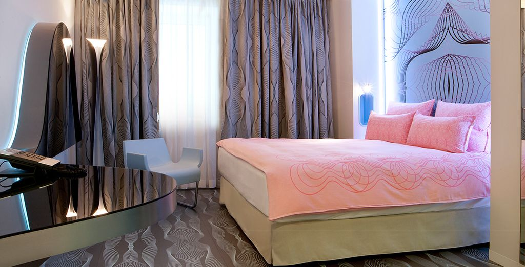 Our members may choose from a Nhow River Room