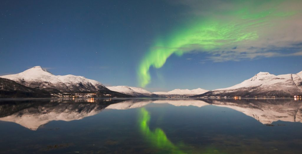 Such as your complimentary Northern Lights excursion