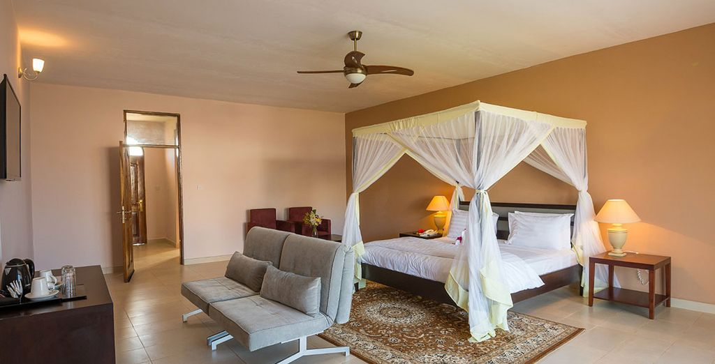 For 3 or 7 nights in an Executive Junior Suite Garden Room
