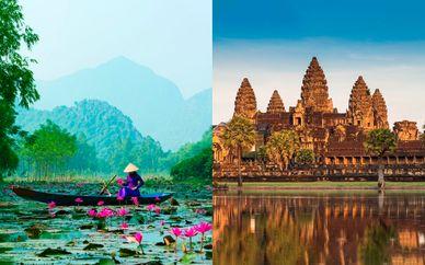 Sendas de Vietnam y Camboya