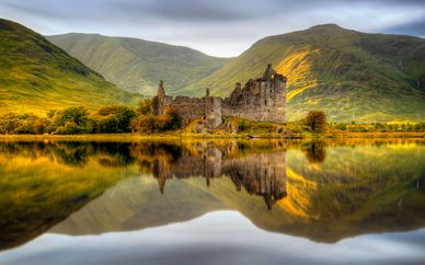 Lugares encantadores de Escocia en Fly & Drive