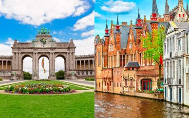 Combinado Martin's Brussels EU 4* y Hotel Montanus 4*