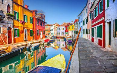 Maison Venezia 4* et excursion en bateau sur les îles vénitiennes
