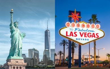 New York et Las Vegas en 4*