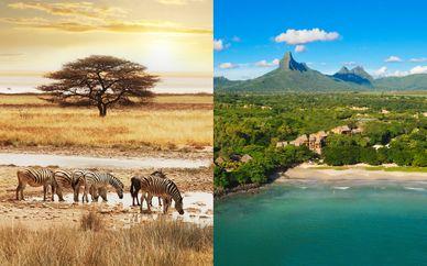Combiné Réserve Privée et Johannesburg avec extension à Maurice