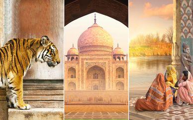 Tour di 10 notti, il Triangolo d'Oro + Khajuraho & Varanasi in 4* e 5*
