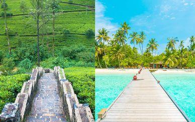 Le meraviglie dello Sri Lanka in tour + Maldive Adaaran Select Meedhupparu 4*