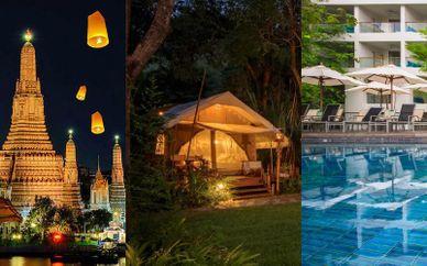 Nouvo City Hotel 4*, Hintok River Camp & X2 Vibe Phuket Patong 4*