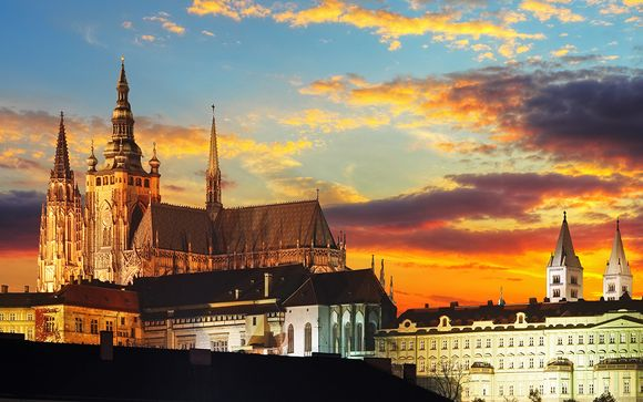 Welkom in Praag, Burcht