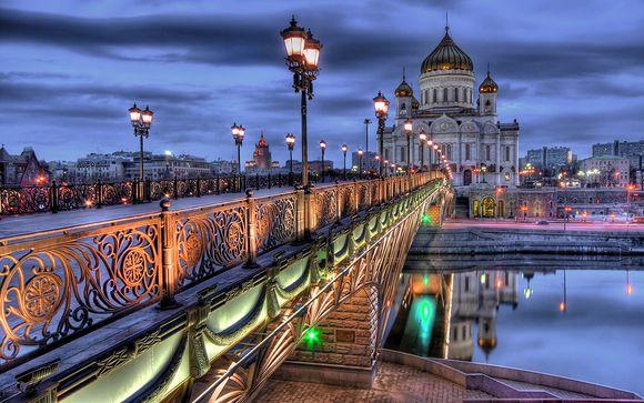 Focus op uw cruise vertrekkende van Moskou