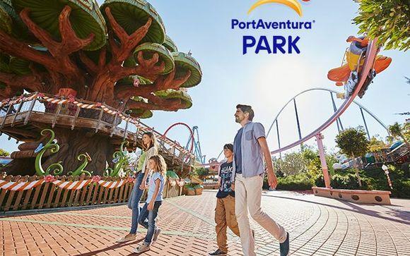 Ihr Ticket 2 Tage / 2 Parks für PortAventura und Ferrari Land