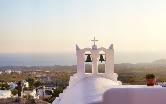 Willkommen auf Santorini