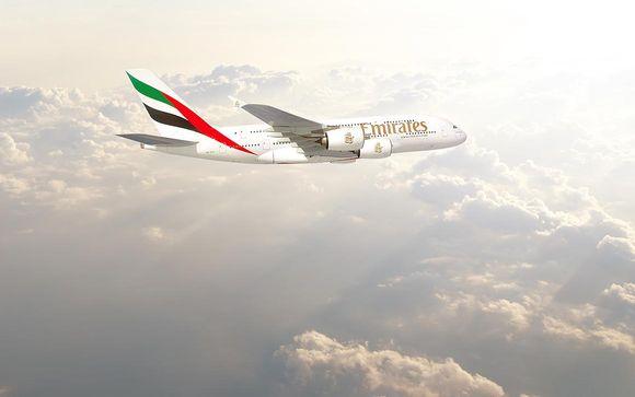 Gönnen Sie sich den Luxus der Business Class oder First Class mit Emirates
