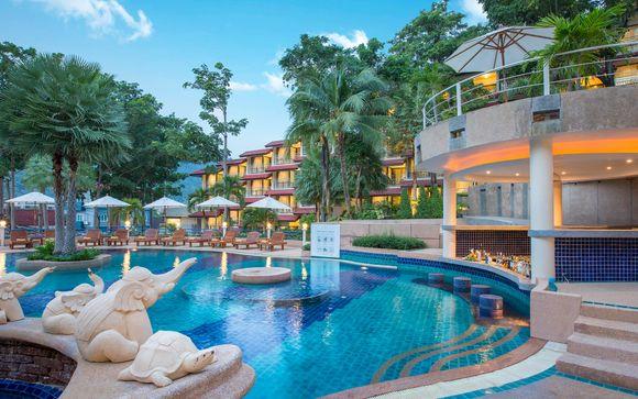 Ihre Erweiterung am Strand von Phuket