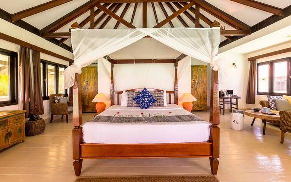 Ihr Strandaufenthalt im Kihaa Maldives Resort & Spa 5*