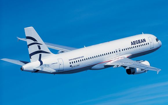 Ihr Flug mit AEGEAN Airlines
