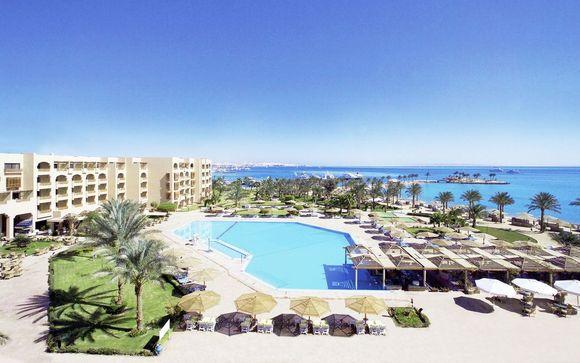 Ihr Strandaufenthalt im Continental Hotel Hurghada 5*
