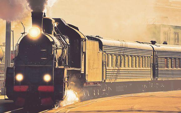 Willkommen in... der Transsibirischen Eisenbahn!