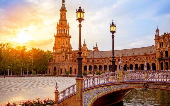 Sevilla Tour bei Sonnenuntergang, Flamenco Show und Tapas
