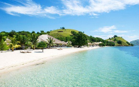 Mögliche Erweiterung auf den Komodo-Inseln