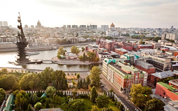 Willkommen in... Moskau!