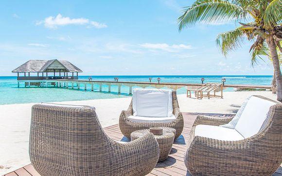 Inselparadies mit All inclusive auf den Malediven in einer Villa