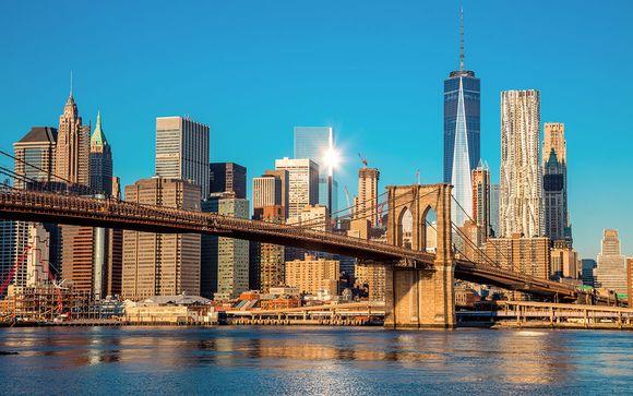 Willkommen in... New York!