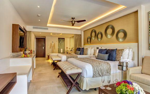 Ihr Zimmer im Hideaway at Royalton Riviera Cancun