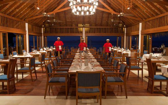 Ihre Verpflegung im Vakarufalhi Island Resort