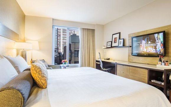 Hotel mit atemberauberder Aussicht in Manhattan