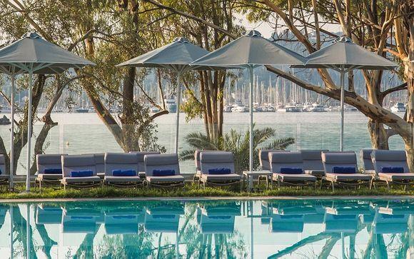 Luxus in Junior Suite am Ionischen Meer