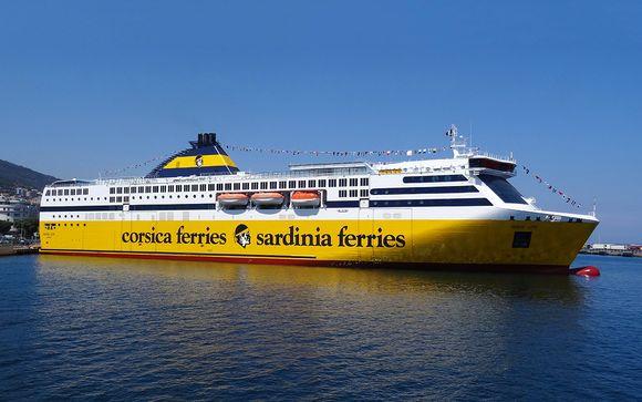 Ihre Reise mit Corsica Ferries