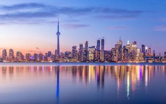 Willkommen in... New York und Toronto!