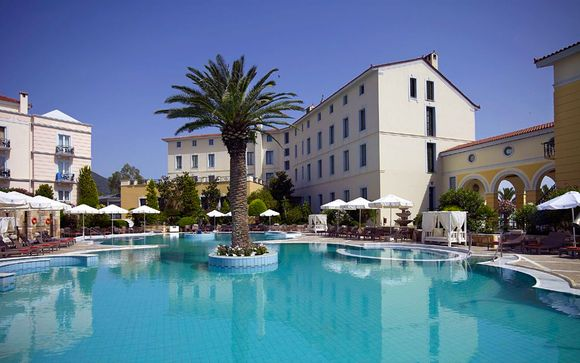 Thermae Sylla Spa Wellness 5* Hotels auf der Insel Evia