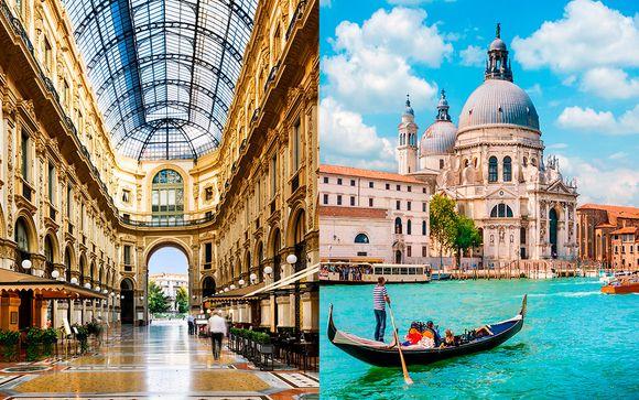 De Milán a Venecia