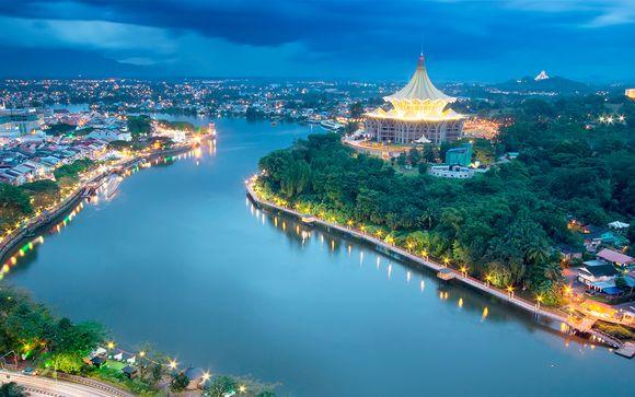 Itinerario Singapur - Kota Kinabalu (opción 1)