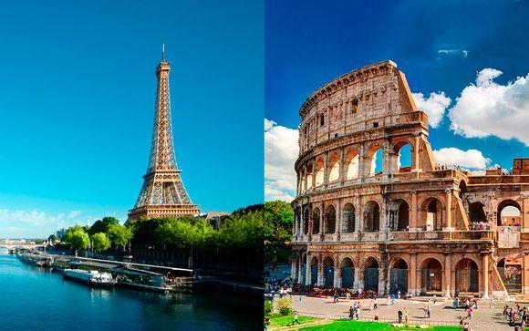 Combinado Paris Mercure 17 4*  y Morgana Rome 4*