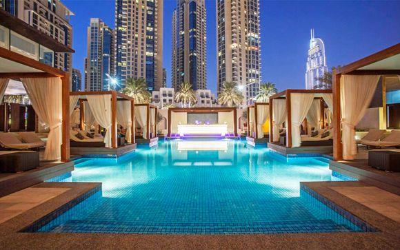 Estilo sofisticado junto al Burj Khalifa