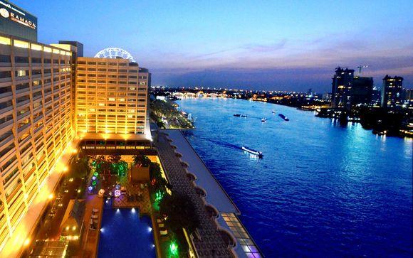 Ramada Plaza Menam Riverside 5*, en Bangkok