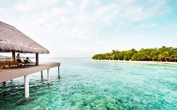 7, 10 o 12 noches en Adaaran Select Hudhuranfushi 4*