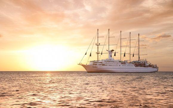 Itinerario de 7 noches en crucero