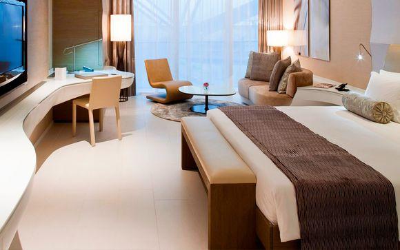 Opción de 2 noches previas en Abu Dhabi