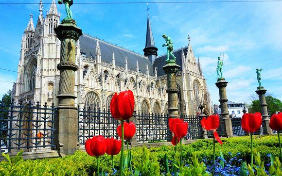Bélgica Gante - NH Hotel Brussels City Centre 4* y NH Gent Sint Pieters 4* desde 102,00 €