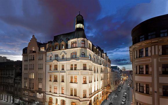 República Checa Praga - Art Nouveau Palace Hotel 5* desde 51,00 €