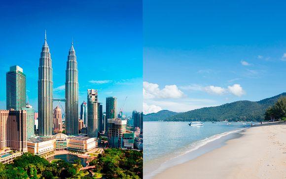 Capital, playas y vuelos con opción a Singapur con vuelos