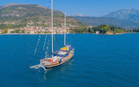Crucero en goleta por Montenegro