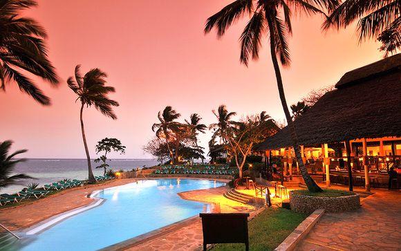 Kenia Diani Beach - Baobab Beach Resort 4* y Safari desde 1.201,00 €