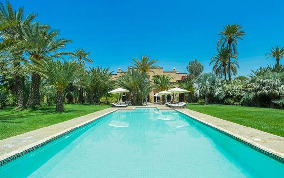 Villa Les Palmiers De L'Oasis