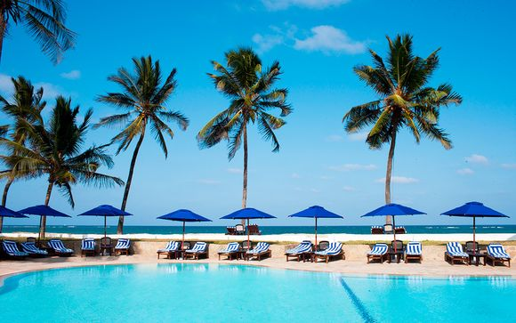 Jacaranda Indian Ocean Beach Resort 4* con safari en español