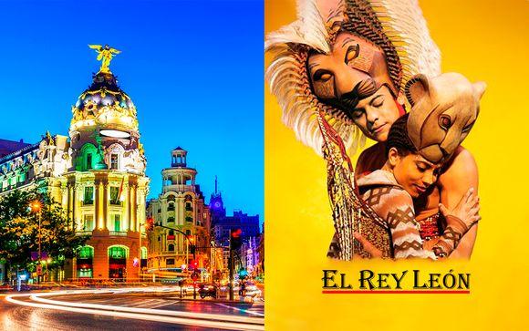 Musical El Rey León y hotel 4*